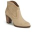 UGG Women's Charlotte Suede Heeled Ankle Boots - Wet Sand: Image 5