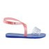 Melissa Women's Tasty Flat Sandals - Clear/Pink: Image 1