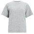Folk Women's Short Sleeve Sweatshirt - Grey/Blue: Image 1