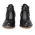 Senso Women's Malika Croc Leather Heeled Ankle Boots - Ebony: Image 4