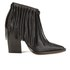 By Malene Birger Women's Ounni Leather Tassel Ankle Boots - Black: Image 1