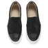 By Malene Birger Women's Cinca Leather Slip On Trainers - Black: Image 2