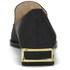 Kat Maconie Women's Esme Leather Mirror Pointed Flat Shoes - Black: Image 3