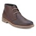 Barbour Men's Readhead Leather Chukka Boots - Dark Brown: Image 5