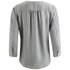 BOSS Orange Women's Euthalia Silk Blouse - Medium Grey: Image 2