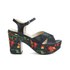 Love Moschino Women's Printed Platform Sandals - Black Multi: Image 1