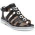 Markus Lupfer Women's Nappa Silver Balls Sandals - Black: Image 5