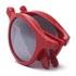 Sunpocket Samoa Shiny Red Sunglasses - Red: Image 3