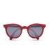 Sunpocket Samoa Shiny Red Sunglasses - Red: Image 1