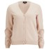 A.P.C. Women's Chantal Cashmere/Merino Mix Cardigan - Peach: Image 1