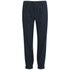 A.P.C. Women's Megeve Cotton/Wool Chevron Trousers - Dark Navy: Image 1