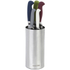 Salter Colour Collection 5 Piece Stainless Steel Kitchen Knife Set With Knife Block: Image 2