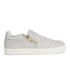 Ash Women's Intense Leather Skater Trainers - Marble: Image 1