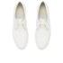 Ash Women's Keanu Cracked Leather Flatform Trainers - White: Image 2
