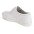 Ash Women's Keanu Cracked Leather Flatform Trainers - White: Image 5