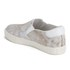Ash Women's Impuls Leather Skater Trainers - White/Nude: Image 5