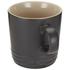 Le Creuset Stoneware Mug, 350ml - Satin Black: Image 2