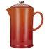 Le Creuset Stoneware Cafetiere Coffee Press - Volcanic: Image 1