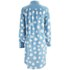 YMC Women's Silk Dot Shirt Dress - Powder Blue: Image 3