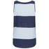 Twist & Tango Women's Ida Vest Top - Light Blue Stripe: Image 2