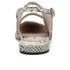 Carven Women's Tie Dye Espadrille Sandals - Natural: Image 3
