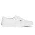 Vans Authentic Canvas Trainers - True White : Image 1