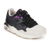 Puma Women's R698 Blocks and Stripes Trainers - Black: Image 4