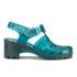 JuJu Women's Babe Heeled Jelly Sandals - Turmaline: Image 1