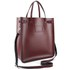 The Cambridge Satchel Company North South Tote Bag - Oxblood: Image 2