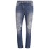 Vivienne Westwood Anglomania Women's New Boyfriend Jeans - Stonewashed Distressed: Image 1