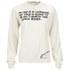 Peter Jensen Women's Tapioca Sweatshirt - White: Image 1