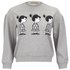Peter Jensen Women's Mini Violet Sweatshirt - Grey Marl: Image 1