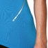 Asics Women's Half Zip Shorts Sleeve Running Top - Jeans Blue: Image 7