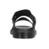 Dr. Martens Men's Shore Brelade Buckle Leather Slide Sandals - Black Brando: Image 3