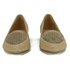 Ravel Women's Anaconda Suede Pointed Flat Shoes - Tan: Image 4