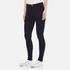 J Brand Women's Maria High Rise Indigo Skinny Jeans - Bluebird: Image 2
