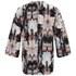VILA Women's Sari Printed Kimono - Black: Image 2