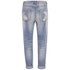 VILA Women's Crime 7/8 Boyfriend Jeans - Light Blue: Image 2