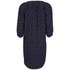 Maison Scotch Women's Printed Beaded Neckline Dress - Navy: Image 2