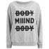 Cheap Monday Women's Extend Sweatshirt - Light Grey Melange: Image 1