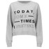 Cheap Monday Women's Expand Sweatshirt - Light Grey Melange: Image 1