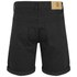 Cheap Monday Men's 'High Cut' Denim Shorts with Fold-Up - Black: Image 2