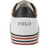 Polo Ralph Lauren Men's Harvey-Ne Canvas Trainers - Pure White/Newport Navy: Image 3