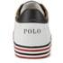 Polo Ralph Lauren Men's Harvey Ne Low Top Trainers - Pure White/Newport Navy: Image 3