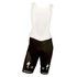 Etixx Quick-Step Replica Bib Shorts - White/Black: Image 1