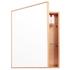 Wireworks Natural Oak Slimline Cabinet 550: Image 1
