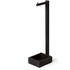 Wireworks Dark Oak Freestanding Toilet Roll Holder: Image 1