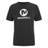 Merrell Men's Stacked Logo Trail Tech T-Shirt - Black/White: Image 1