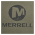 Merrell Men's Vintage Stacked Logo T-Shirt - Grape Leaf Heather Green: Image 3