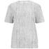 Helmut Lang Women's Lightning Print Washed Jersey T-Shirt - White: Image 1